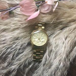 Michael Kors | #5505 yellow gold Watch